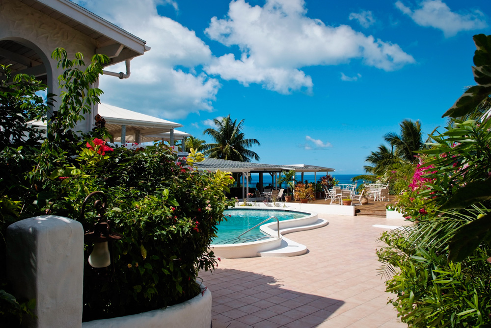 Trade Winds Hotel Antigua At The Pool With Ocean View