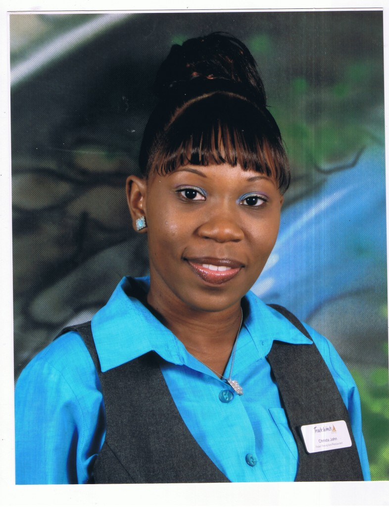 Christa John - Receptionist/Relief Night Audit &amp; Restaurant