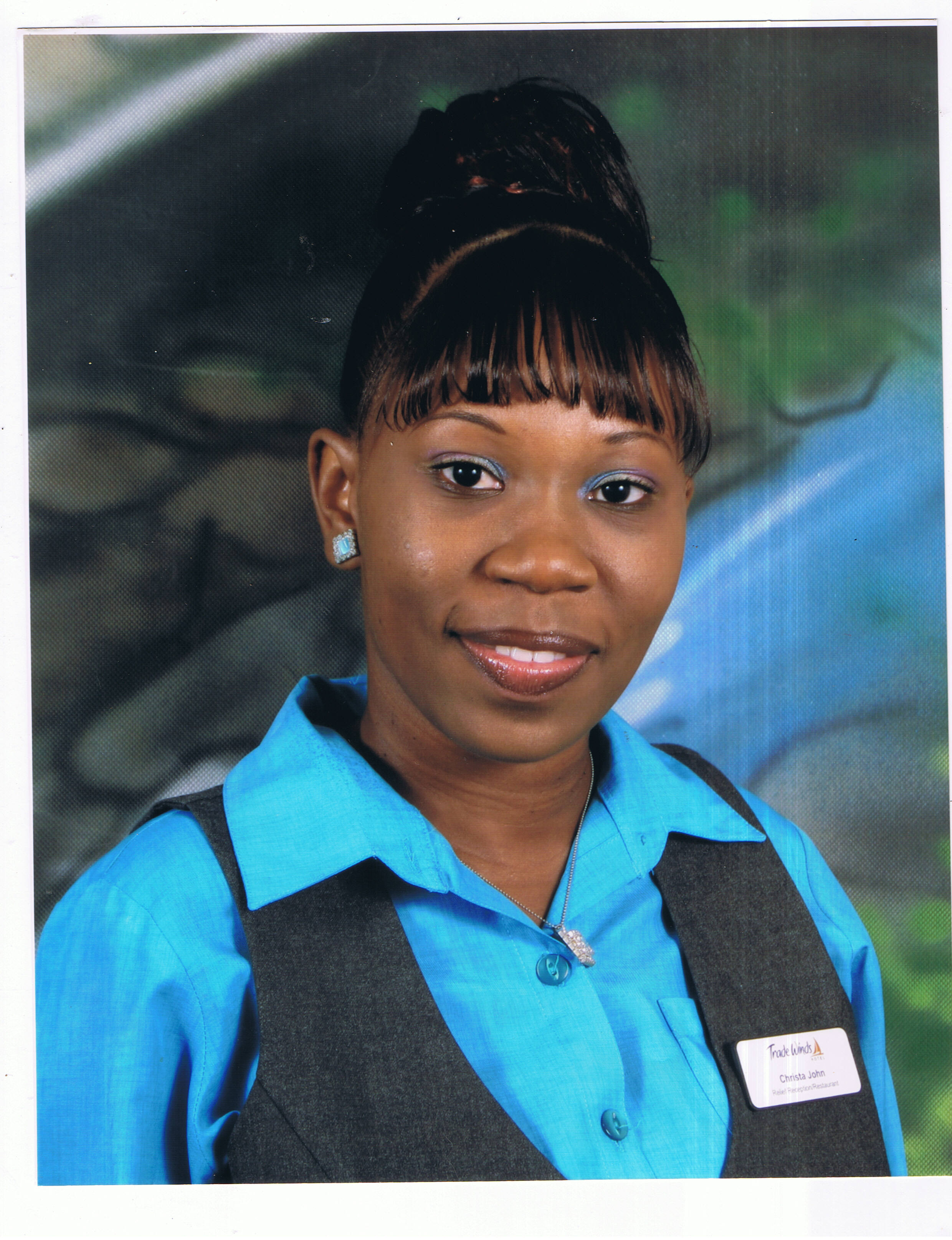 Christa John - Receptionist/Relief Night Audit & Restaurant