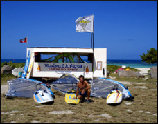 Photo: Windsurfing Antigua