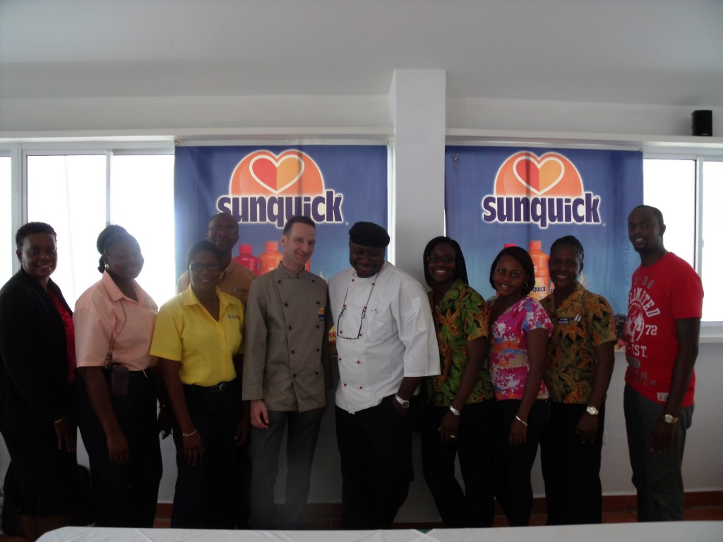 Sunquick and Trade Winds Hotel Team
