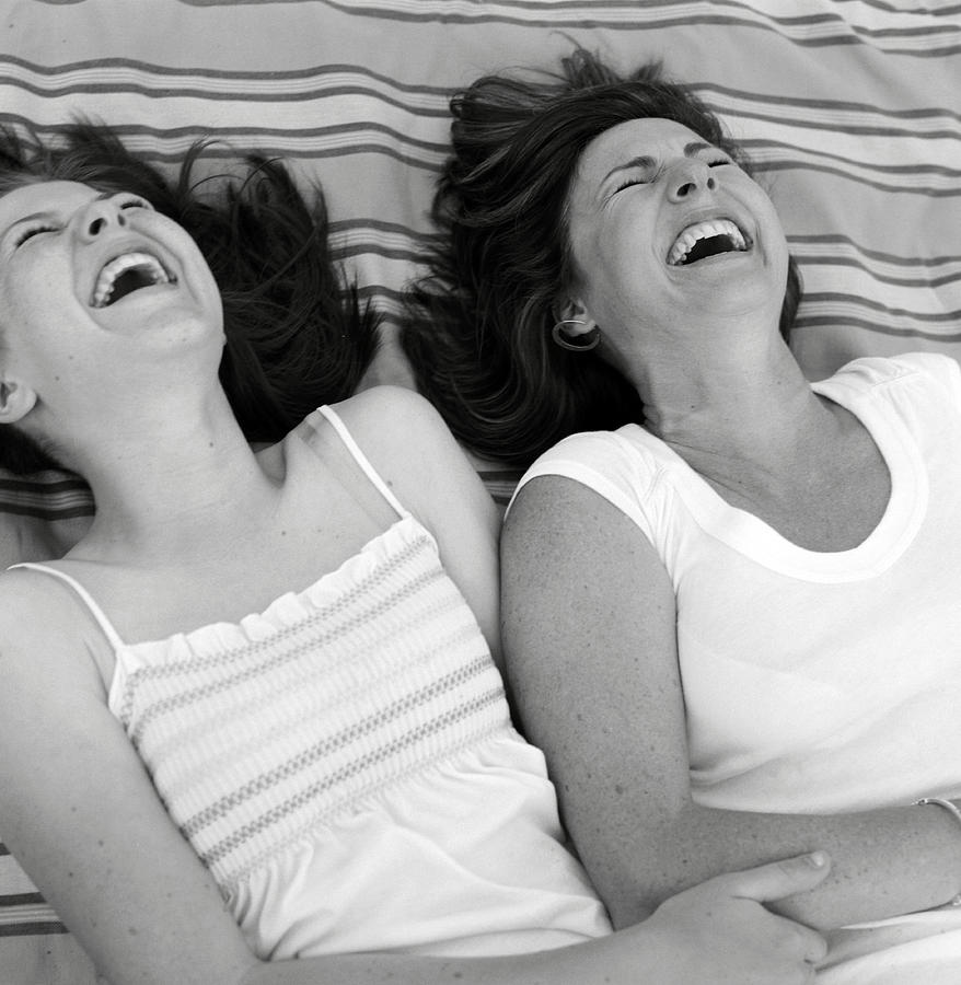motherdaughterlaughing