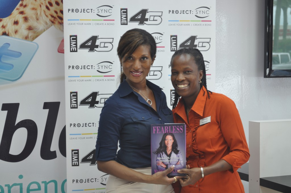 Maimah Karmo and our Operations Manager Marydith Gordon