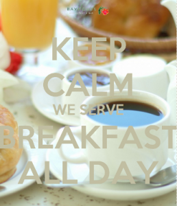 keepcalmbreakfast